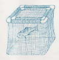 Floating Fish Cage 3' x 3' x 2'