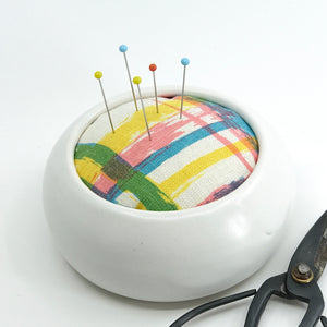 The Quintessential Pincushion in Multi