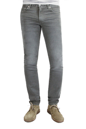 S.M.N Studio's Hunter in Ashton Men's Jeans - Slim Comfort Stretch Denim in grey