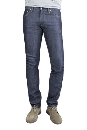S.M.N Studio's Hunter in Dante Men's Jeans - Slim fit jeans in an unwashed raw denim