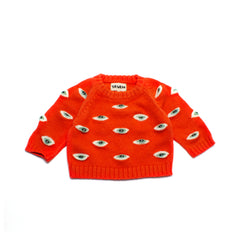 FLAMES EYEZ BABY SWEATER