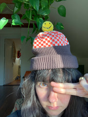 Holy Guacamole Checker Happy Hat