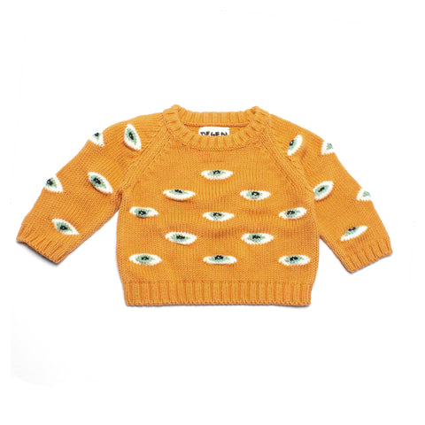 LIL PEACH EYEZ BABY SWEATER