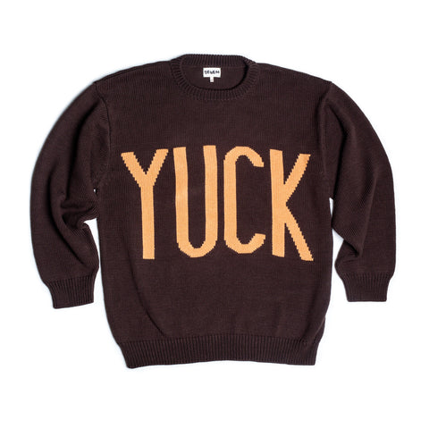 RETRO YUCK SWEATER