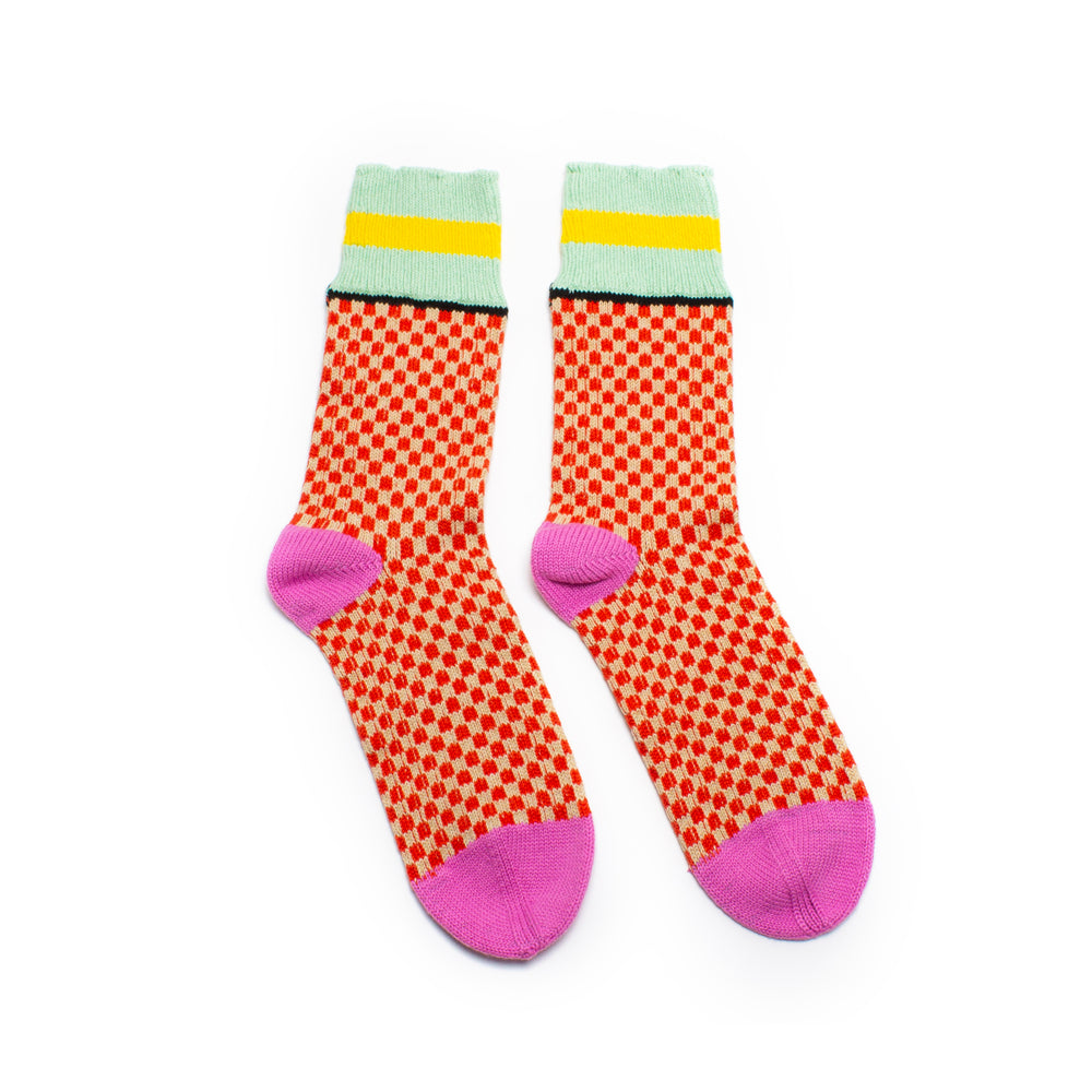 PRE ORDER Candy Check Socks