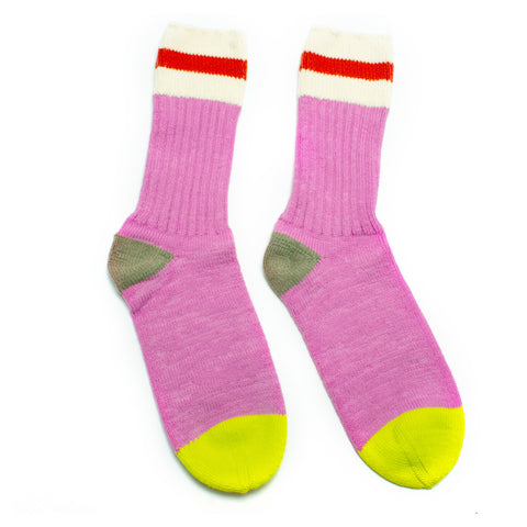 PRE ORDER Candy Striped Rib Socks