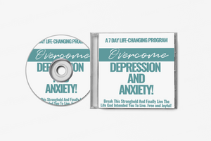 Copy of LIVE AUDIO AND EBOOK-OVERCOME DEPRESSION/ ANXIETY ( 7 Day Program). Download Immediately!