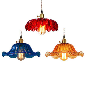 10 inch Macaroon Mini Color Glass Simplicity Pendant Light Ceiling Lamp Down light E26 - heparts