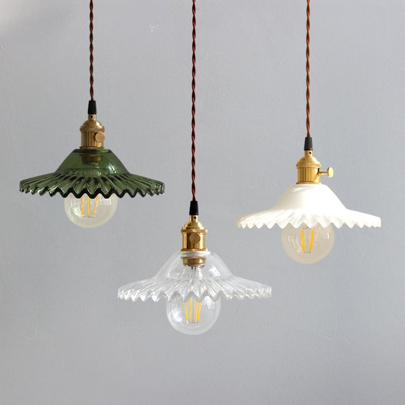 8.3 inch Macaroon Mini Color Glass Simplicity Pendant Light Ceiling Lamp Down light E26 - heparts