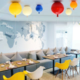 Fashionable Colorful Balloon Lamp Mini Ceiling Light Ceiling Lamp Kids E26/E27 - heparts