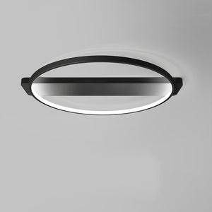 Modern Style Round Simplicity LED Integrated Ceiling Lamp Flush Mount 32W - heparts