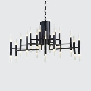 36-Lights Luxurious Acrylic Chandelier Ambient Light Painted Living Room G4 / LED Integrated - heparts