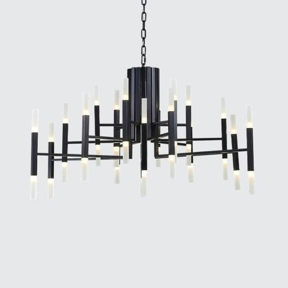 36-Lights Luxurious Acrylic Chandelier Ambient Light Painted Living Room G4 / LED Integrated