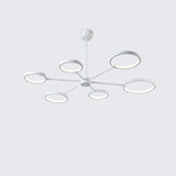 3/6/8-Light Mini LED Chandelier Ambient Light Painted Finishes Metal Silica Gel Mini Style - heparts