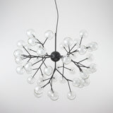 9/27/36/45/54/63-Lights Globe Glass Novelty Sputnik Chandelier Ambient Light Painted Finishes Metal Glass Creative Bulb Included G4 - heparts