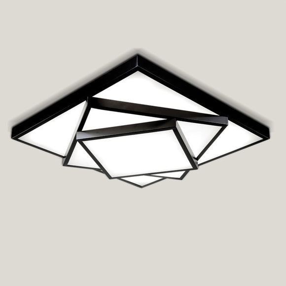 52cm Geometric Pattern Design Modern Style Simplicity LED Ceiling Lamp Metal Flush Mount