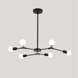 6-Lights Sputnik Northern Europe Chandelier Pendant Light Modern Metal Molecules E26 / E27 - heparts