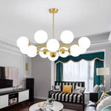 6/8/12 Lights Pure Copper Sputnik Magic Ball Chandelier Pendant Lighting E26/E27