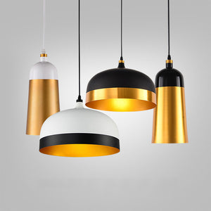 Aluminum Mini Pendant Light Downlight Painted Finishes Metal Designers E26/E27 - heparts