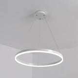Circle 60 cm 36W Modern Acrylic Simplicity LED Pendant Lights LED Integrated