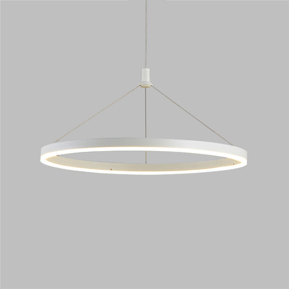 Circle 60 cm New Design LED Pendant Light Metal Acrylic Painted Finishes LED Integrated