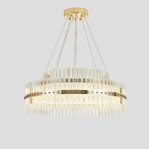 Circular / Novelty Chandelier Pendant Light Ambient Light Painted Finishes Aluminum Creative, New Design LED Integrated - heparts