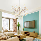 Firefly Branched Sputnik Pendant Light Chandelier Ambient Light Candle Style LED - heparts