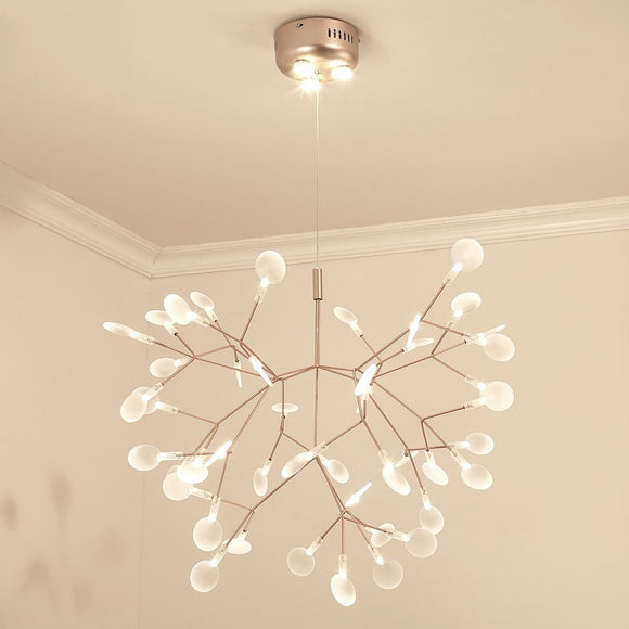 Firefly Branched Sputnik Pendant Light Chandelier Ambient Light Candle Style LED