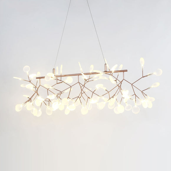 Firefly Crossbars Sputnik Pendant Light Chandelier Ambient Light Candle Style LED