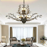 Free Shipping 8-Lights Classic Crystal Pendant Light Retro Chandelier Living Bed Dining Room Retro Lamp