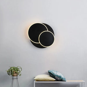 Artistic INS Planet Mini Style Flush Mount Wall Lights Indoor Metal Wall Light LED Integrated PMMA