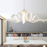 Led 75W Pendant Light Modern Contemporary Metal Painting 110V or 220V for Dinning Room Living Room Bedroom - heparts