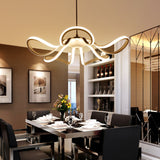 Led 65W Pendant Light Modern Contemporary Metal Painting 110V or 220V for Dinning Room Living Room Bedroom - heparts
