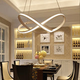 Twist Circular Pendant Light Chandelier Lighting Lamp Ambient Light LED - heparts