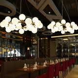 Cluster Pendant Light Ambient Light Electroplated Metal Glass Mini Style 110-120V / 220-240V Bulb Included / G4 - heparts