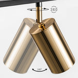 5-lights Sputnik Pendant Light Ambient Light Chandelier Lighting Lamp GU10 LED - heparts