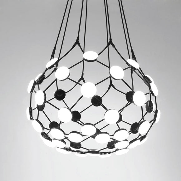 Globe Net LED Pendant Light Chandelier Lighting Lamp Ambient Light - heparts