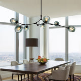 6/7/9 Lights Sputnik Pendant Light Chandelier Lighting Lamp Ambient Light - heparts