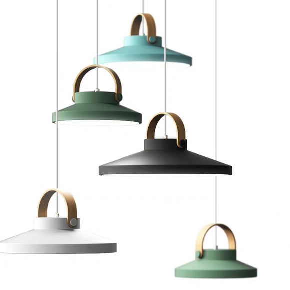 Ins Macaroon Chandelier Modern Color Pendant lamp  E26 Bulb Included 40W
