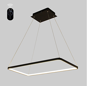 Linear Pendant Light Ambient Light Painted Finishes Metal Acrylic Bulb Included, Adjustable, LED Integrated - heparts