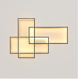 Linear-Wall Light-Flush Mount-Lighting Lamp Ambient Light-85-265V - LED Light Source Included - heparts