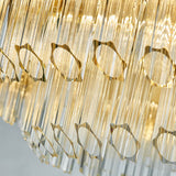 Luxury Crystal Chandelier Modern Suspension Pendant Light Elegant Ceiling Lamp Lighting Fixture for Living Dining Room E12-E14 ITEM1916