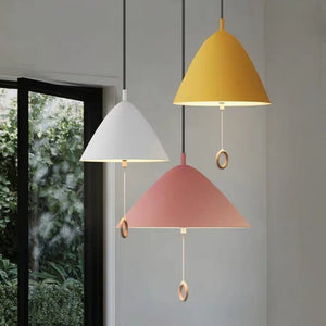 Macaroon Designer's Lamp Pendant Light Colorful Lights Chandelier Down light E26/E27 with Switch - heparts