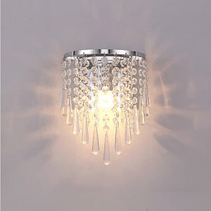 Mini Style Crystal Wall Lamps Lights Ambient Light E26  E27