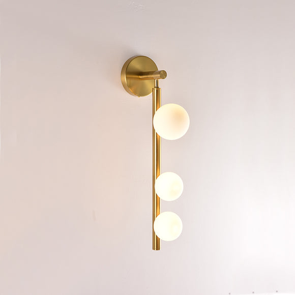 Modern Glass Ball Wall Sconce Indoor Down Spot Light Decorative Lighting 4G4