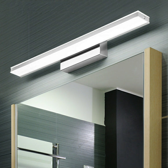Modern LED Mirror Lamp AC100-240V Acrylic Wall Lights Make-Up Lighting Vanity Light Waterproof and anti-fog