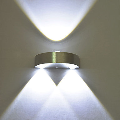 Modern 3W LED Wall Sconce Indoor Hallway Up Down Spot Light Aluminum Decorative Lighting LED Integrated