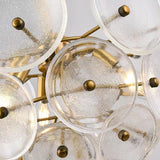 New Bubble Glass Sputnik Chandelier Ambient Light E12 E14 6-Light - heparts
