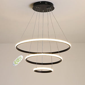 Outer Glow 3-Lights 60cm Circle Chandelier Ambient Light LED Integrated