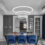 Pendant Lights Modern LED Chandeliers Light LED Pendant Lamp Acrylic Hanging Lamps Suspension Lighting for Indoor home - heparts